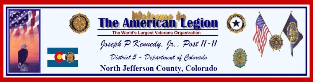 The American Legion Department of Colorado District 5 Post 11-11